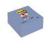 POST-IT Super Sticky XYZ-No. 101x101mm R440-SSPW veilchenblau, liniert 5 Block