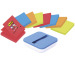 POST-IT Super Sticky Z-Notes 76x76mm VAL-8BP Dispenser 4 Farben 8x90 Blatt