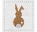 PPD Servietten 33x33cm 1332732 Bunny felt white 20 Stück