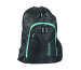 RACOON Backpack City Rack 42.13192 47x33x18cm black/acqua