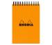 RHODIA Spiralblock orange A7 11500 kariert 80 Blatt