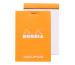 RHODIA Dot Pad orange 85x120mm 12558 Raster 80 Blatt