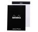 RHODIA Dot Pad schwarz A5 16559 Raster 80 Blatt