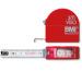 RIEFFEL Rollmeter Innenmass 3m 405/3 VIS rot