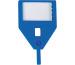 RIEFFEL Schlüssel-Anhänger KyStor KR-A BLAU blau
