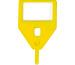RIEFFEL Schlüssel-Anhänger KR-A GELB gelb