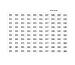 RIEFFEL Anhängenummern KyStor KR-AN 301 Satz 301 - 400