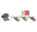 ROOST Schlüsselanhänger VW Bus 10080438 farbig 5x2x2cm
