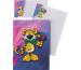 ROOST Papier/Couverts Leopard 180376 80g, pink/blau 2x10 Stück