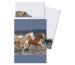 ROOST Papier/Couverts Pferd am Mee 180394 80g, graublau 2x10 Stück