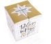 ROOST Adventskalender 15x15x15cm 3452453 Winter Magic Überraschungen