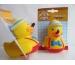 ROOST Ente Pinocchio 587370 gelb, 8cm