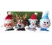 ROOST Aufzieh Weihnachtsfigur 72333