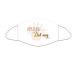 ROOST Mund-Nasen-Maske 9767 Abstand - weil ich dich mag