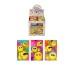 ROOST Notizblock 9.3x5.5cm S51022 Smiley, multicolor 20 Blatt