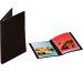 RUMOLD Präsentationsbuch A4 376804 PP, 20 Hüllen schwarz