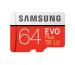 SAMSUNG Micro-SDXC Card Evo Plus 64GB MB-MC64GA with Adapter Class 10 100MB/s