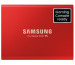 SAMSUNG SSD Portable T5 500GB MU-PA500R USB 3.1 Gen. 2 red