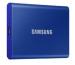 SAMSUNG SSD Portable T7 500GB MU-PC500H USB 3.1 Gen. 2 Indigo Blue