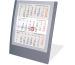 SATUREX Tischkalender 3-Mt. 5039-AS d/e/f/i/sp/nl 13x17,5cm, 2021