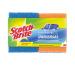 SCOTCH-BR Universal Schwamm UNNS2CH blau/orange 2 Stück