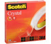 SCOTCH Crystal Clear 600 19mmx66m C6001966 kristallklar