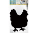 SECURIT Kreidetafel CHICKEN FB-CHICKE schwarz 37.4x27.3x0.3cm