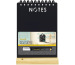 SECURIT Kreidetafel NOTES FBT-NOTES schwarz 34x21x6cm