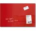 SIGEL Glas-Magnetboard artverum GL122 rot 600x400x15mm