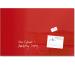 SIGEL Glas-Magnetboard artverum GL142 rot 1000x650x15mm