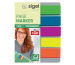 SIGEL Notes 12x50mm HN610 5 Farben ass. 125 Blatt