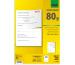 SIGEL Spezialpapier A4 LP202 weiss, 200 Stk.A5 / 100 Bl.