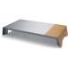 SIGEL Monitorständer USB 52x25x8cm SA405 smartstyle Metallic-Holz