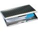SIGEL Visitenkarten-Etui 62x95mm VZ130 chrom bis 20 Karten