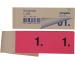 SIMPLEX Garderobenblock 1-100 13072 rosa 100 Blatt