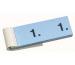 SIMPLEX Garderobenblock Nr. 1-100 13075 blau 100 Blatt