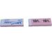 SIMPLEX Garderobenblock 101-200 13079 rosa 100 Blatt