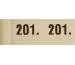 SIMPLEX Garderobenblock Nr. 201-300 13084 weiss 100 Blatt