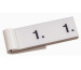 SIMPLEX Garderobenblock 301-400 13091 weiss 100 Blatt