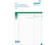 SIMPLEX Ausmassbuch A4 15103 grün/weiss 50x2 Blatt