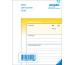 SIMPLEX Lieferscheine D A6 15123D gelb/weiss 100x2 Blatt
