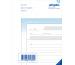 SIMPLEX Quittungen D A6 15300D blau/weiss 50x2 Blatt