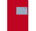 SIMPLEX Statistikheft A5 19002 rot 40 Blatt