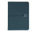 SIMPLEX Simply Pocket Velvet 2021 40525.21 75x112mm,blau,1W/2S
