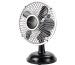 SONNENK. Tischventilator Retro Fan 15cm 10501417 schwarz