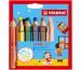 STABILO Farbstifte Woody 3 in 1 8806-2 6 Farben Etui
