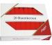 STEINHART Baumkerzen 100x13mm 02333-10 rot 20 Stück