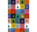 STEWO Geschenkpapier Chris 251472904 100x70cm blau