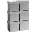 STEWO Geschenkbox 13.5x13.5x12.5cm 255178219 silber One Colour