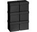 STEWO Geschenkbox 13.5x13.5x12.5cm 255178229 schwarz One Colour